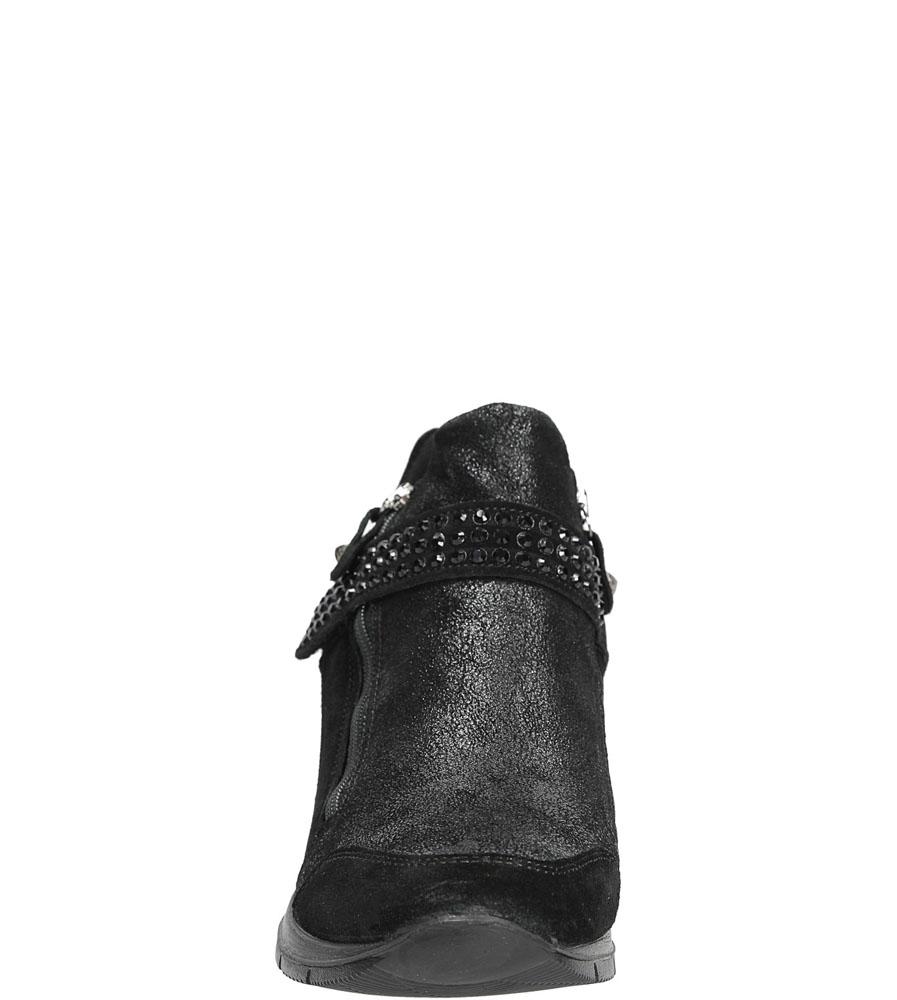SNEAKERSY IMAC 63381 kolor czarny