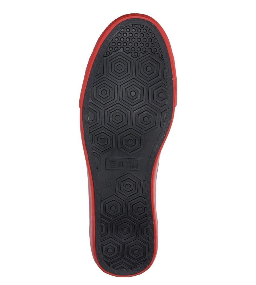 Damskie TRAMPKI BIG STAR V274565 czerwony;;