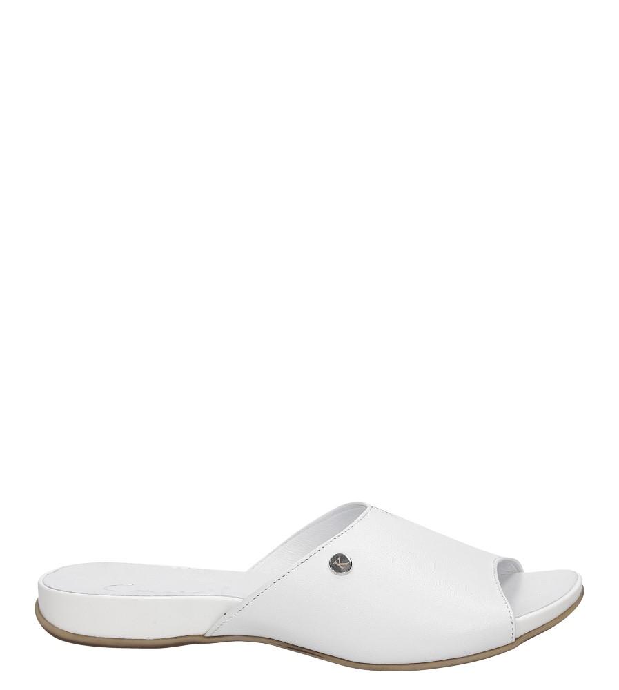 Damskie KLAPKI CASU 1056 biały;;