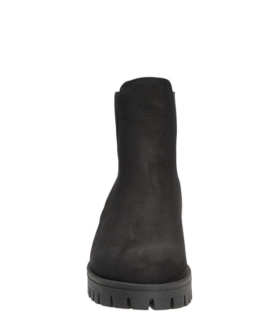 BOTKI CASU 1021/B kolor czarny
