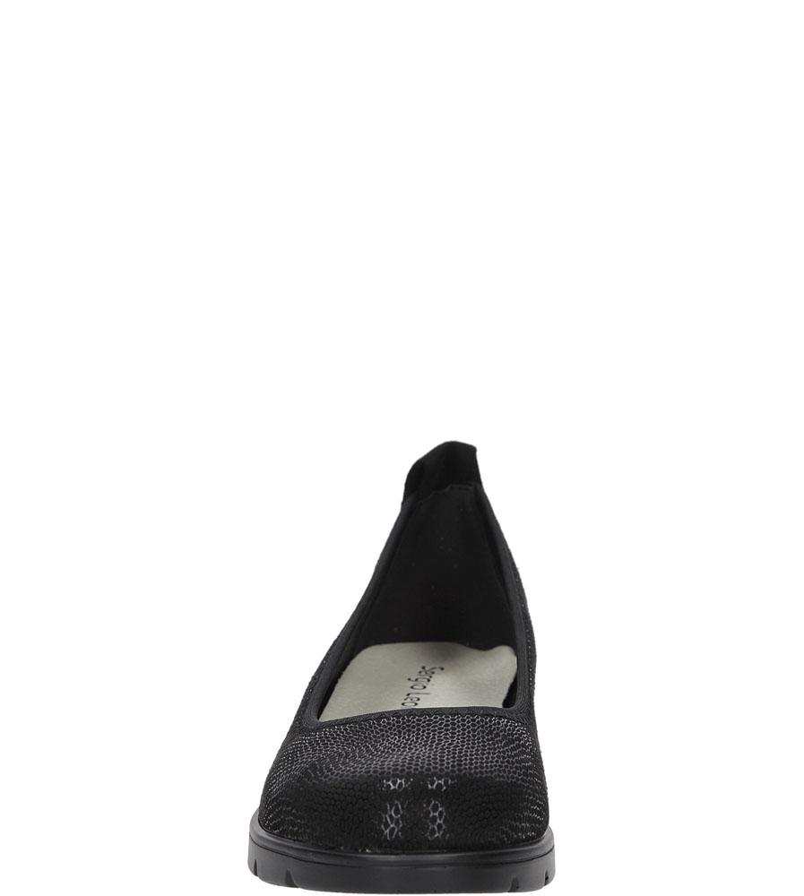 BALERINY SERGIO LEONE 1702 kolor czarny