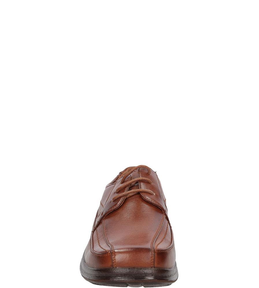 Męskie PÓŁBUTY CASU A9382-88 brązowy;;