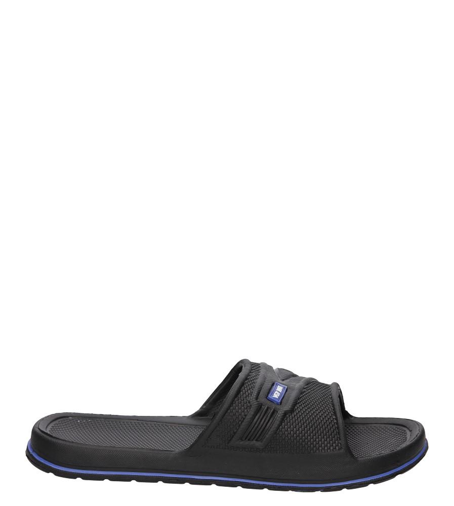 Damskie KLAPKI CASU M6552 czarny;niebieski;