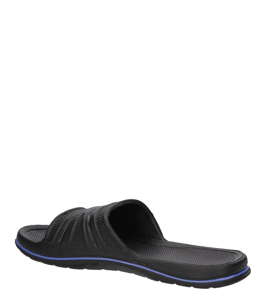 KLAPKI CASU M6552 kolor czarny, niebieski