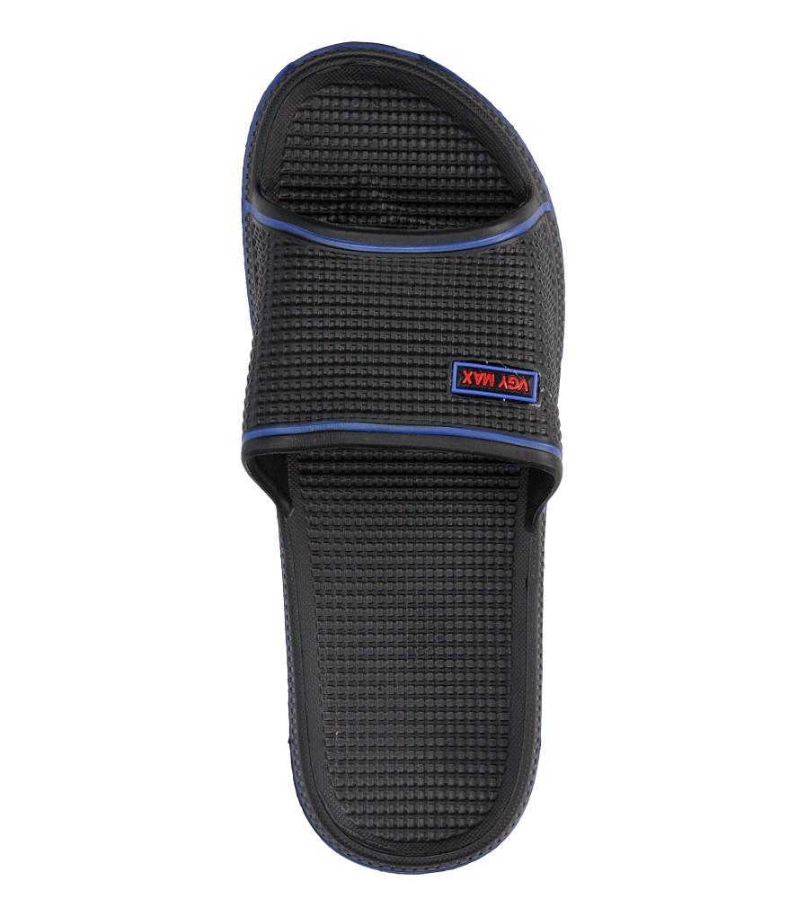 Damskie KLAPKI CASU M714-2 czarny;niebieski;