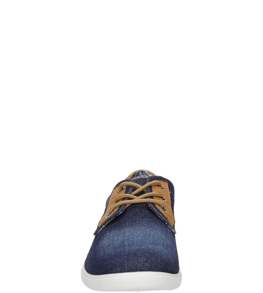 Męskie TRAMPKI CASU E752-1 niebieski;;