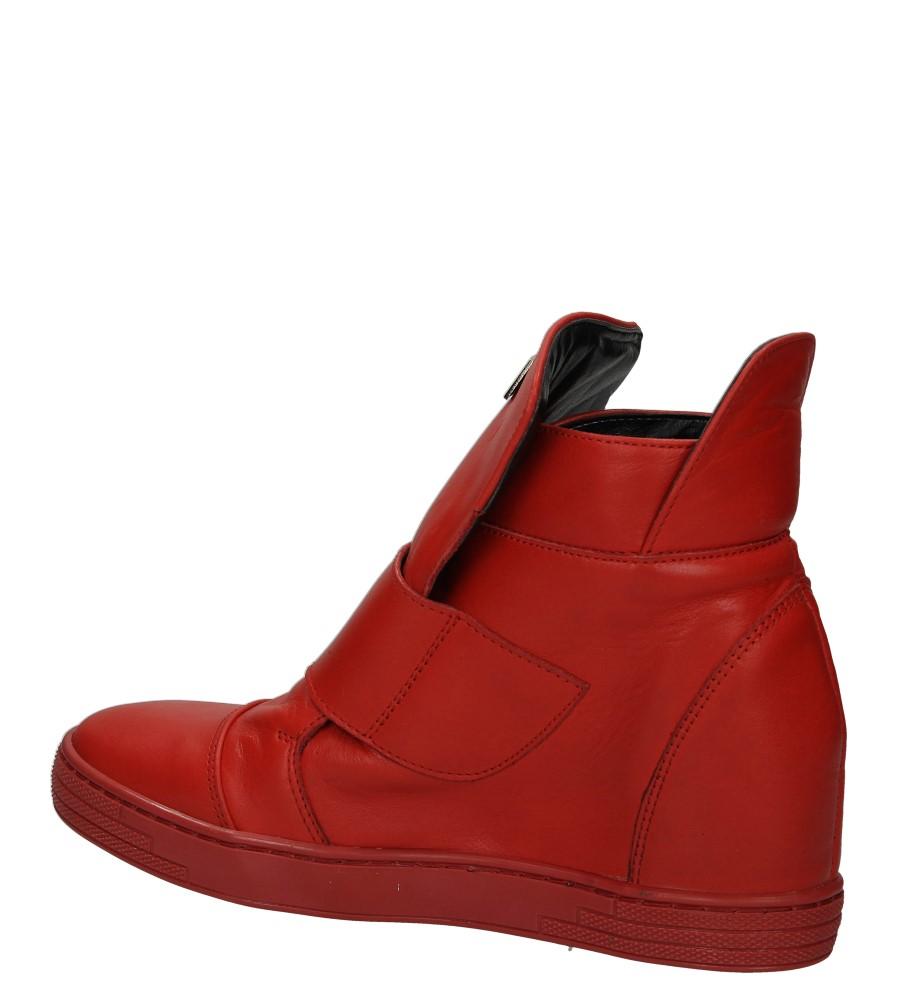 Damskie SNEAKERSY CASU 2350 czerwony;;