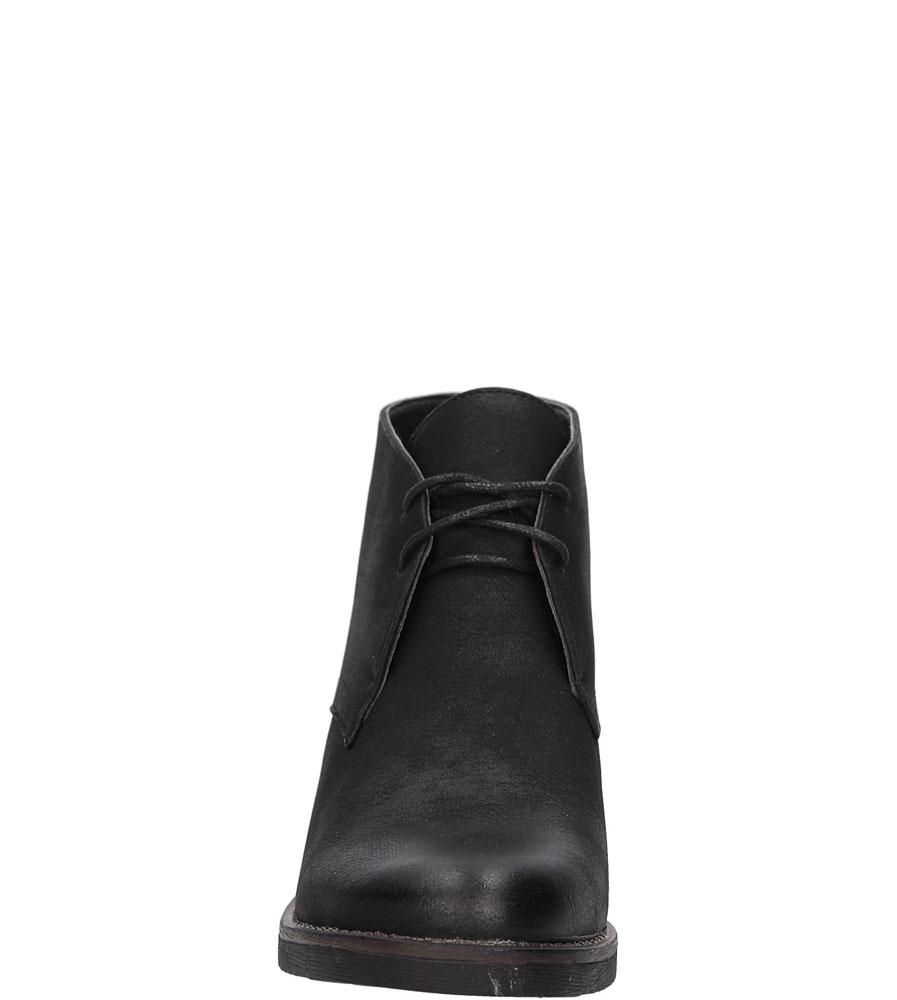 BOTKI S.BARSKI 560872-Y3 kolor czarny