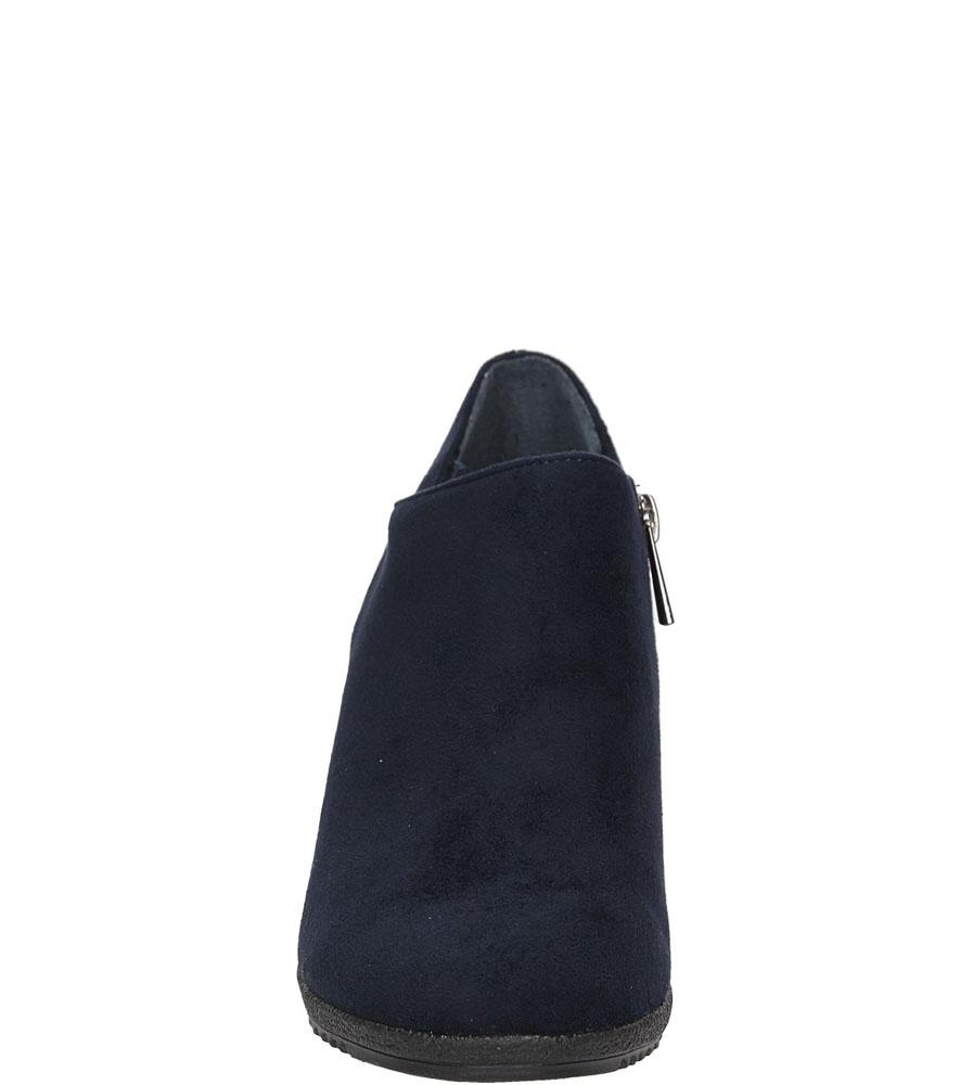 Damskie PÓŁBUTY S.BARSKI L39657 niebieski;;