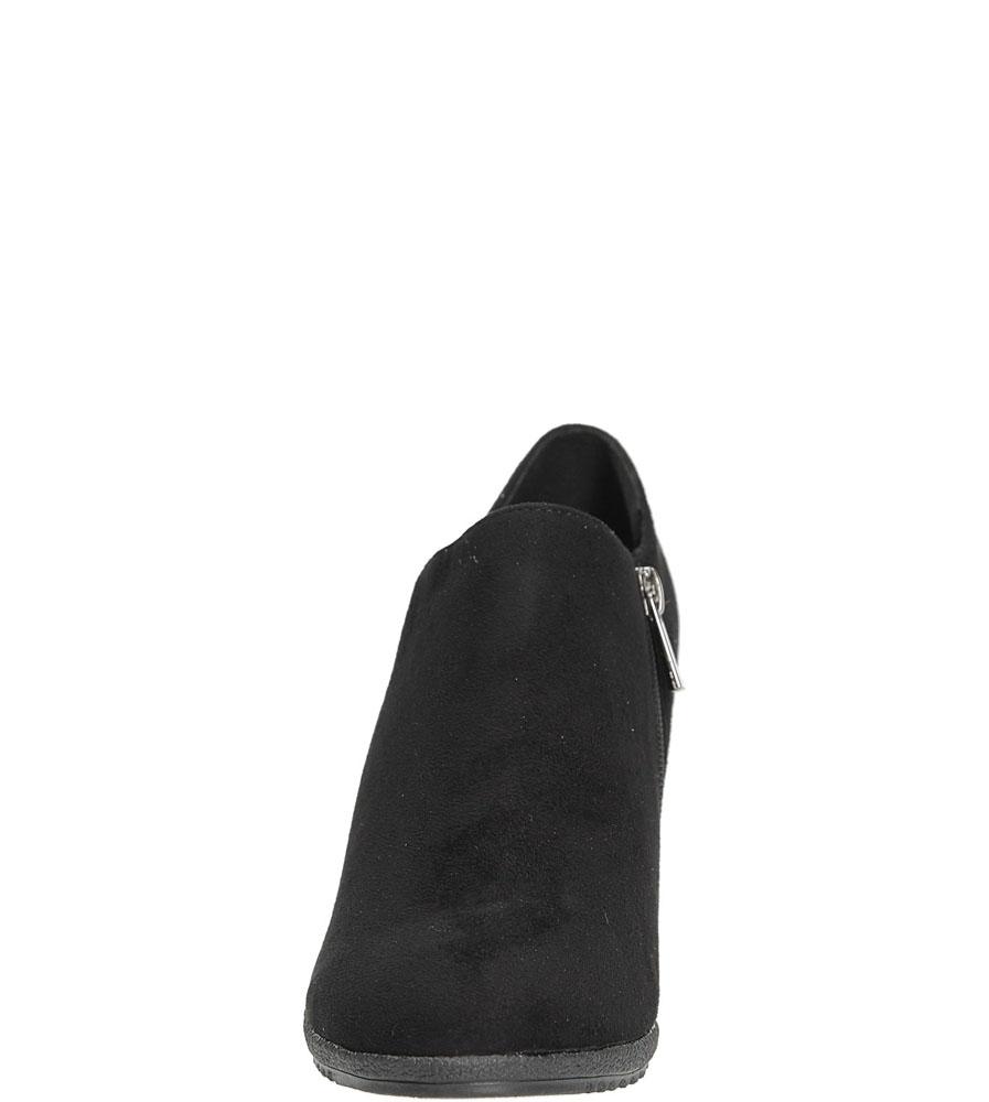 PÓŁBUTY S.BARSKI L39657 kolor czarny