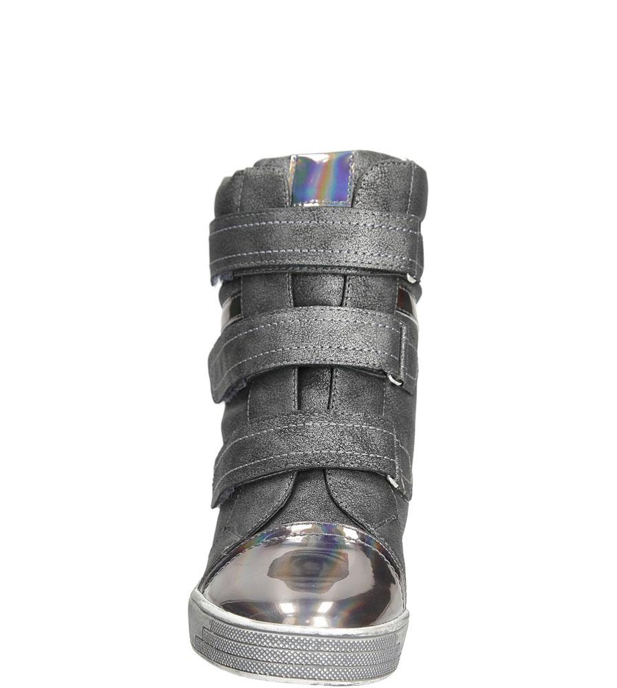 SNEAKERSY SERGIO LEONE 28759 kolor srebrny, szary