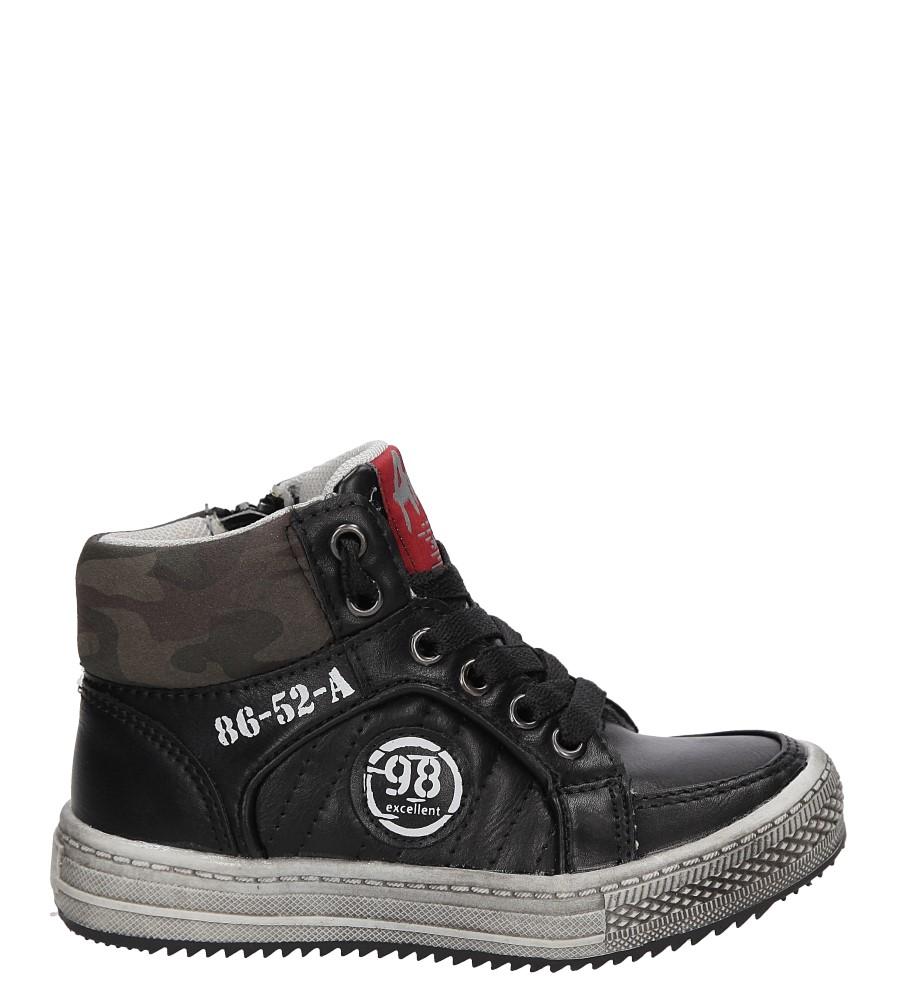 Dziecięce TRAMPKI B-G10097D-A1 czarny;;