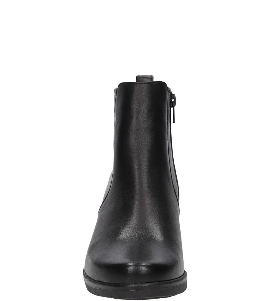 BOTKI CASU 3215 kolor czarny