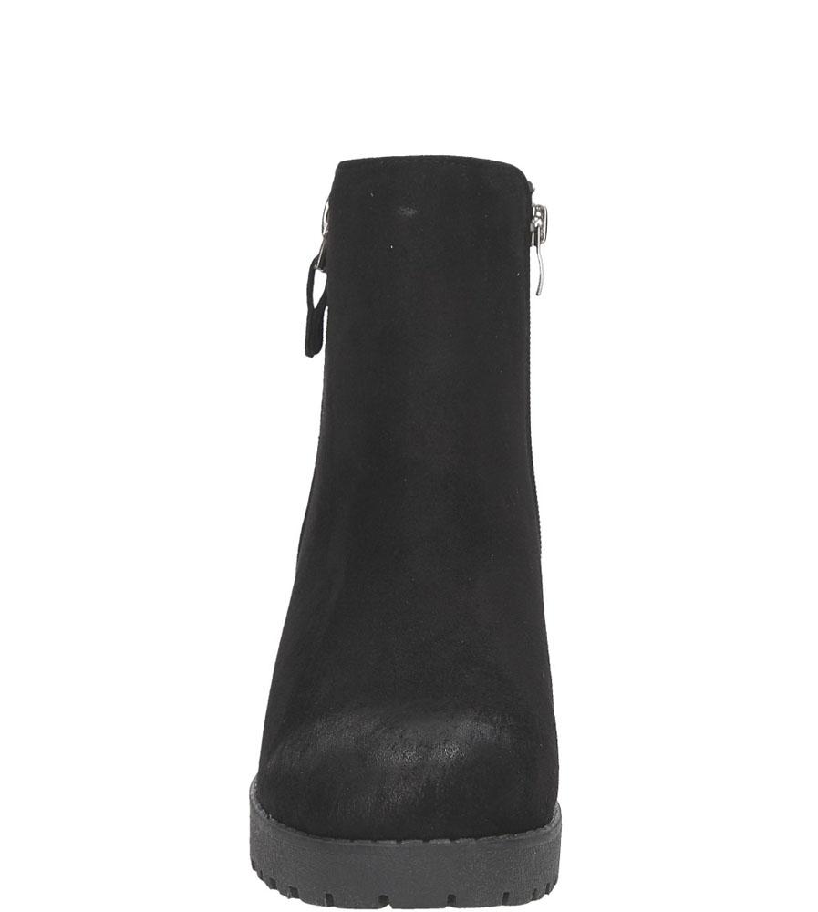 BOTKI S.BARSKI 56109-2A kolor czarny