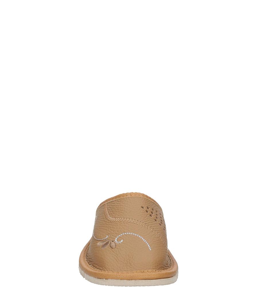 Damskie KAPCIE CASU D-22 brązowy;;
