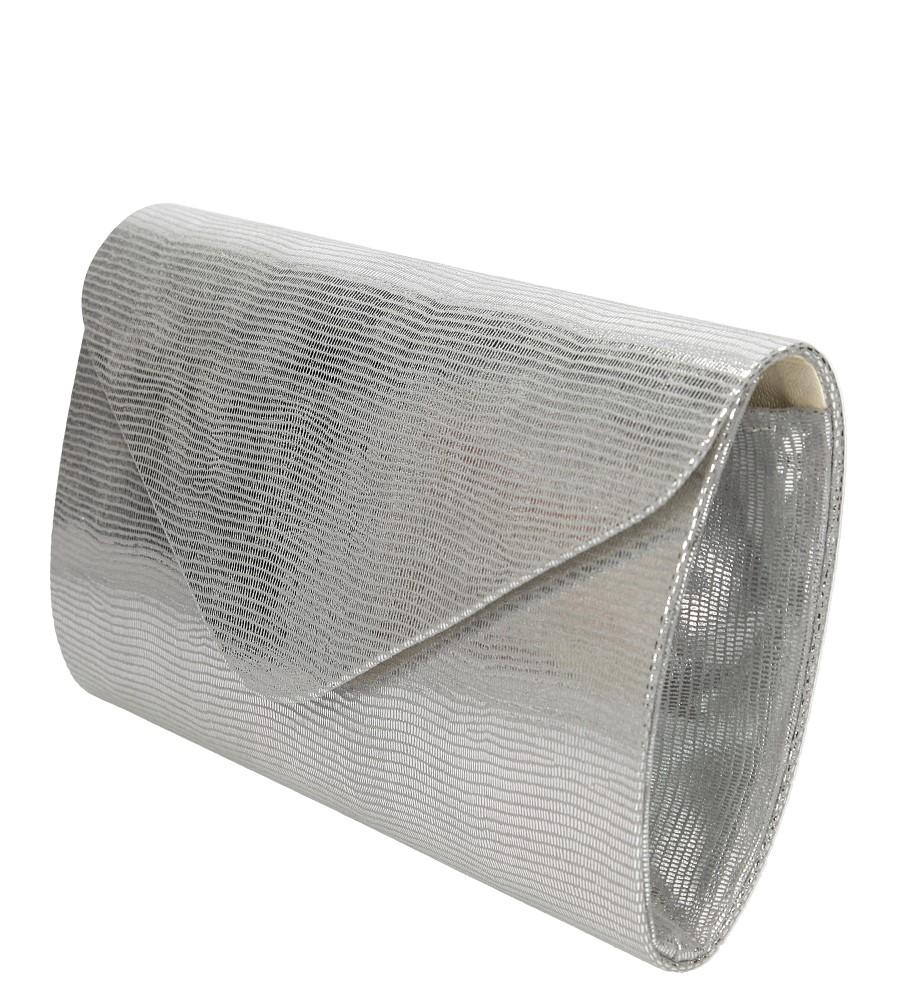 Damskie TOREBKA WIZYTOWA R06 srebrny;;