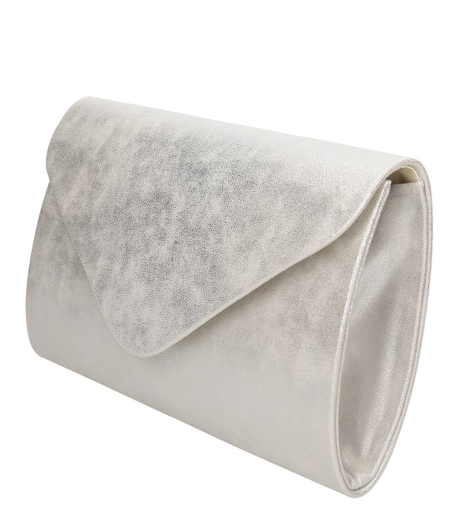 TOREBKA WIZYTOWA R06 kolor srebrny