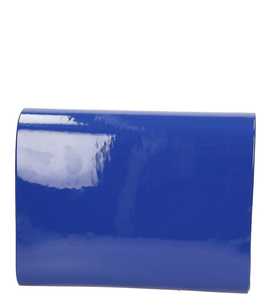 Damskie TOREBKA WIZYTOWA R-10A niebieski;;