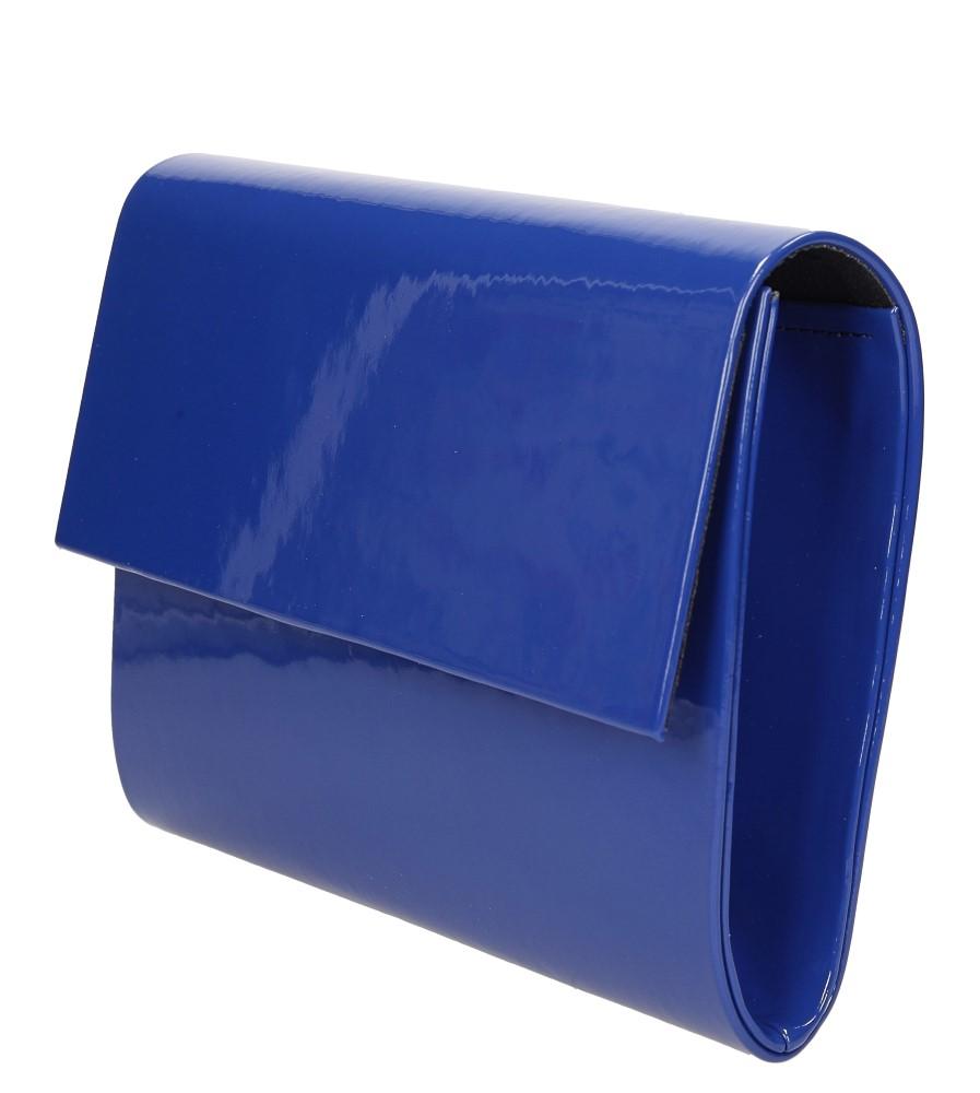 TOREBKA WIZYTOWA R10A kolor modrakowy