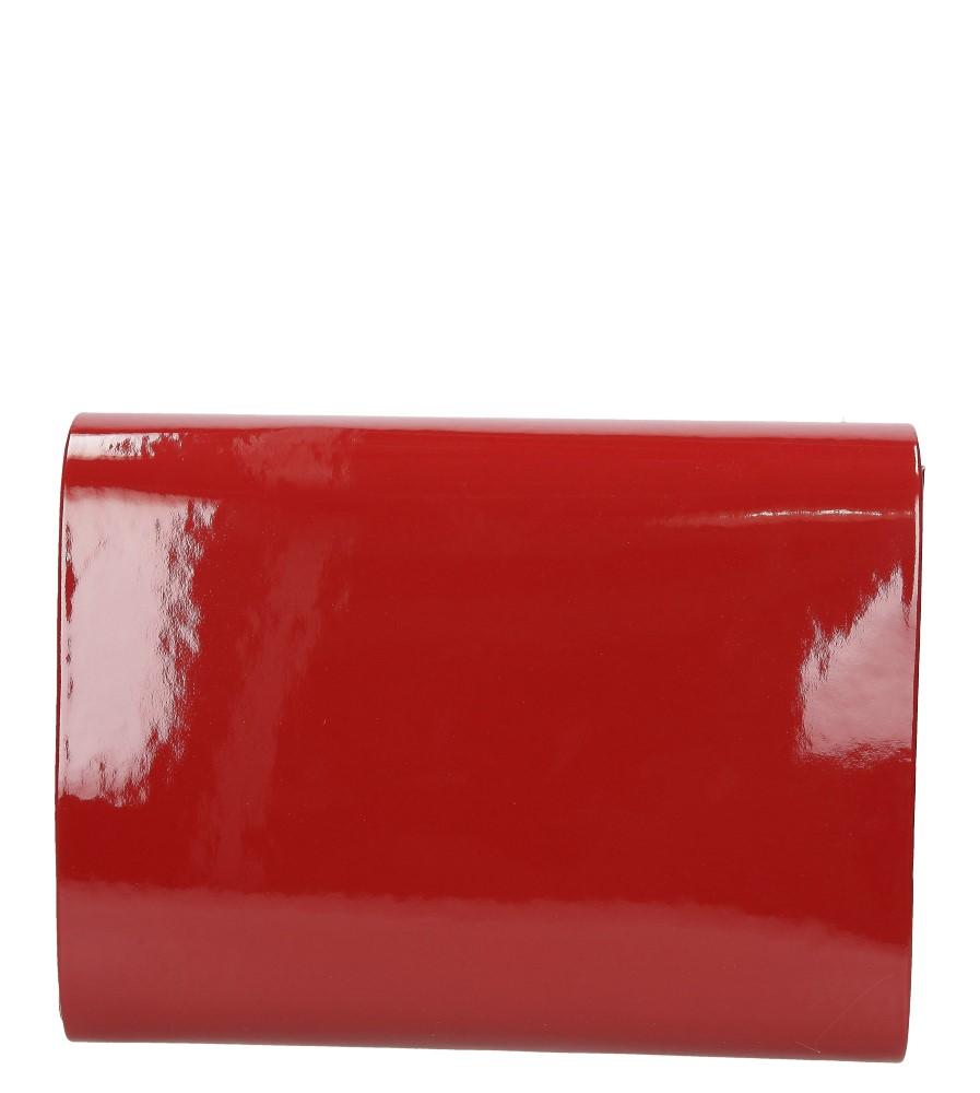 Damskie TOREBKA WIZYTOWA R-10A czerwony;;