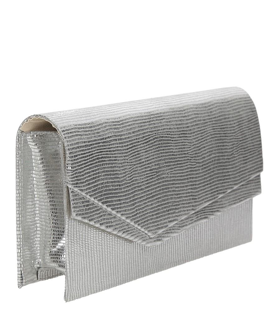 TOREBKA WIZYTOWA M01B kolor srebrny
