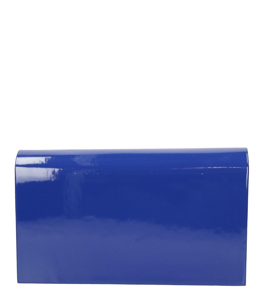 Damskie TOREBKA WIZYTOWA M01A niebieski;;