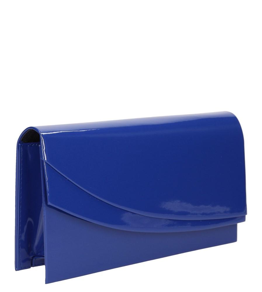TOREBKA WIZYTOWA M01A kolor modrakowy