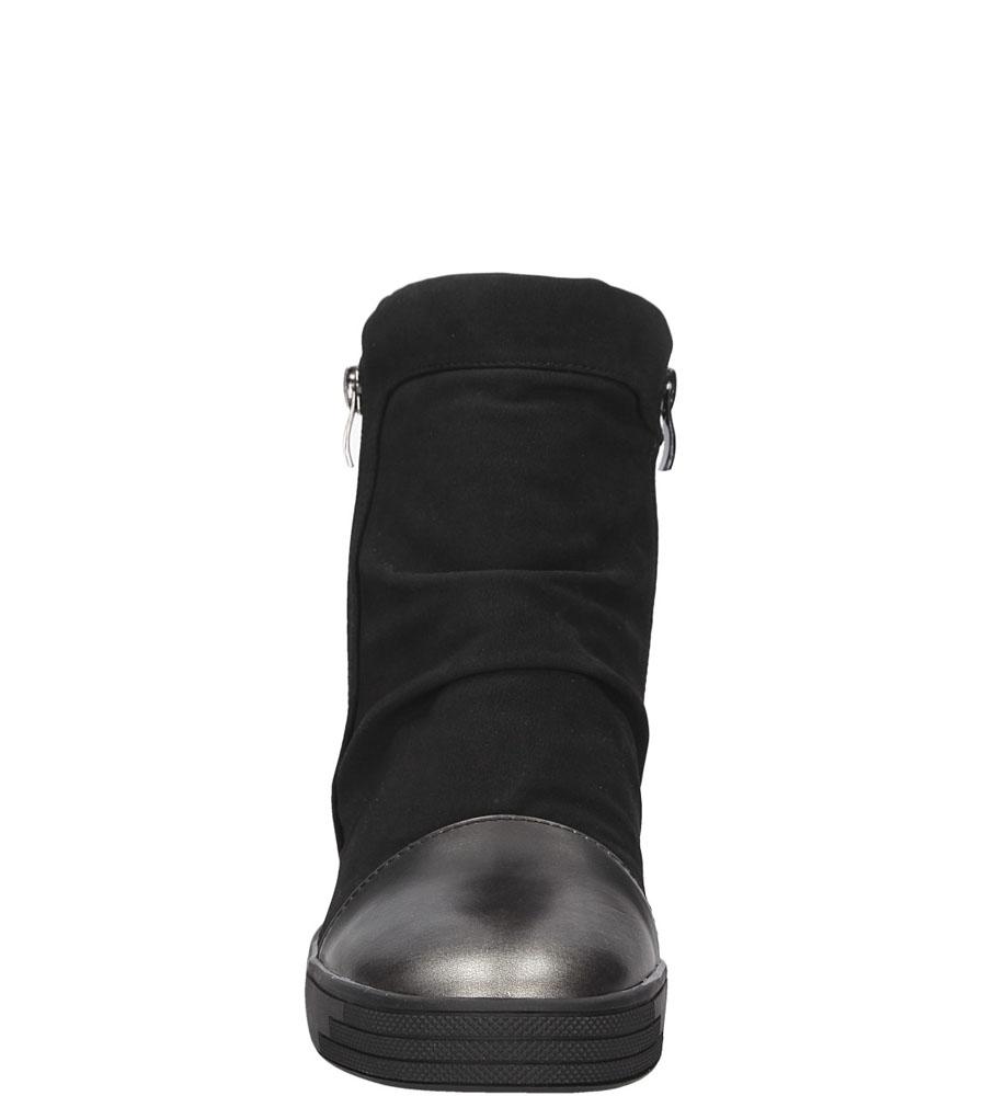 SNEAKERSY SERGIO LEONE 28875 kolor czarny