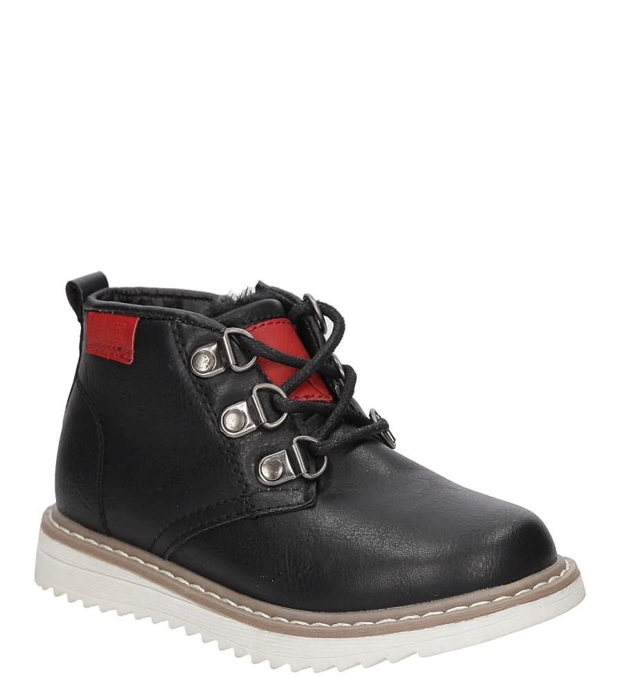 Dziecięce TRZEWIKI CASU 3W-DY85849 czarny;czerwony;