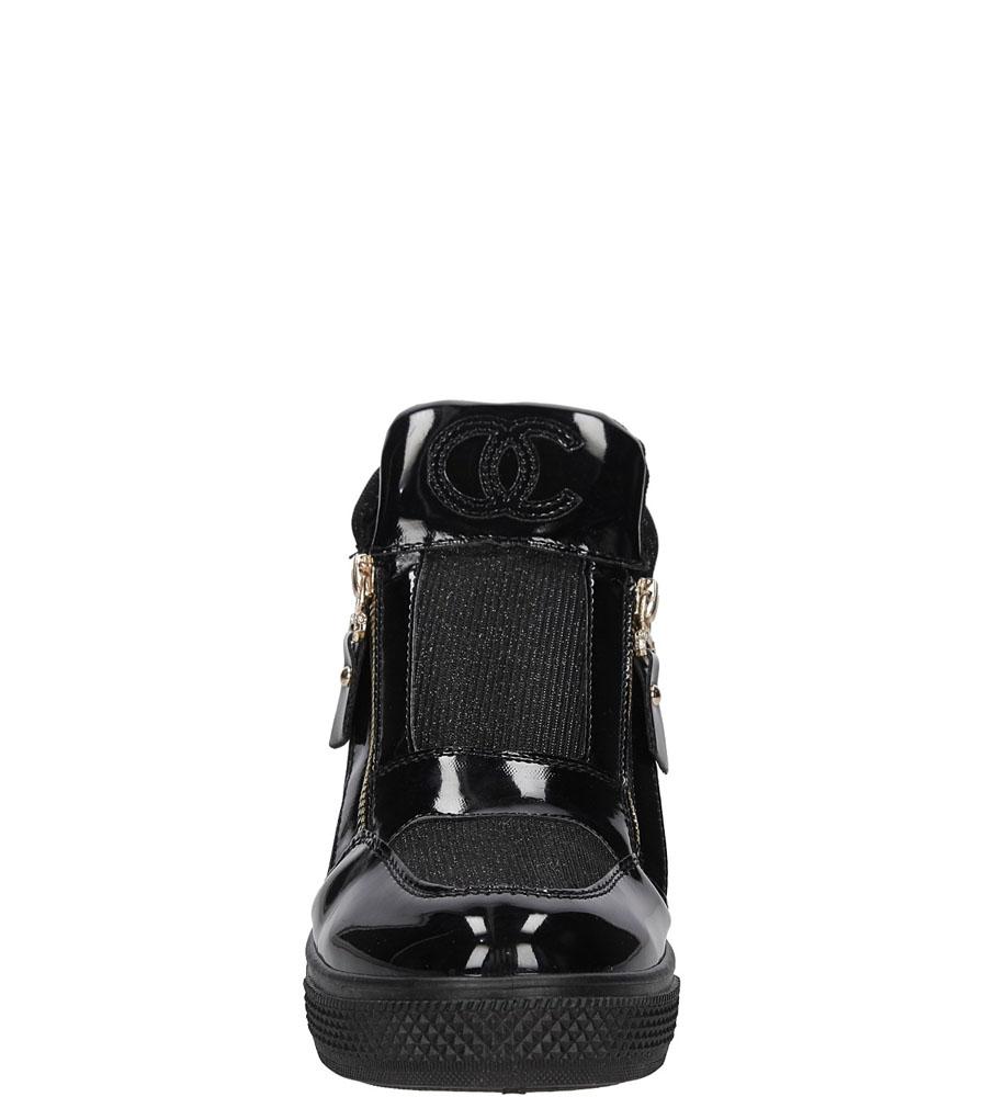 SNEAKERSY CASU S-3-0011 kolor czarny