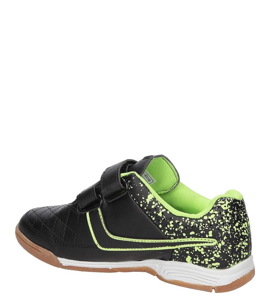 Dziecięce Sportowe Casu 5A-YF163756 czarny;zielony;