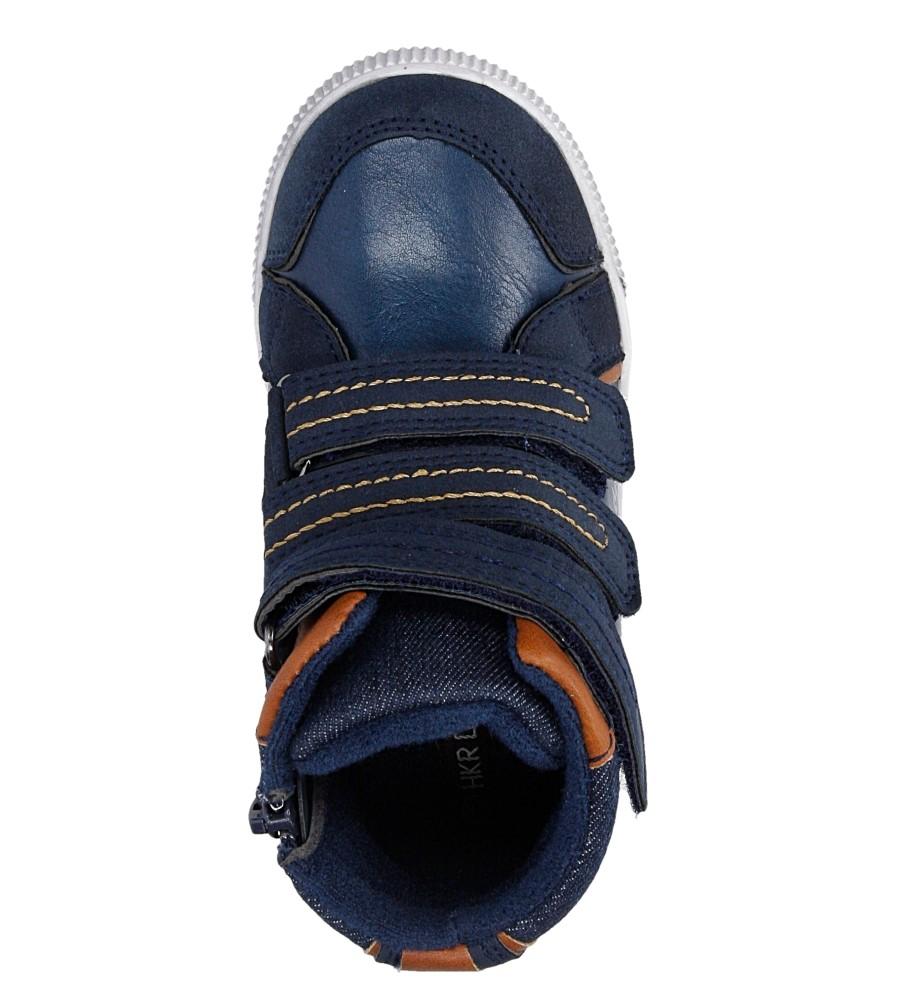 Dziecięce TRZEWIKI CASU 3F-DY168528 niebieski;brązowy;