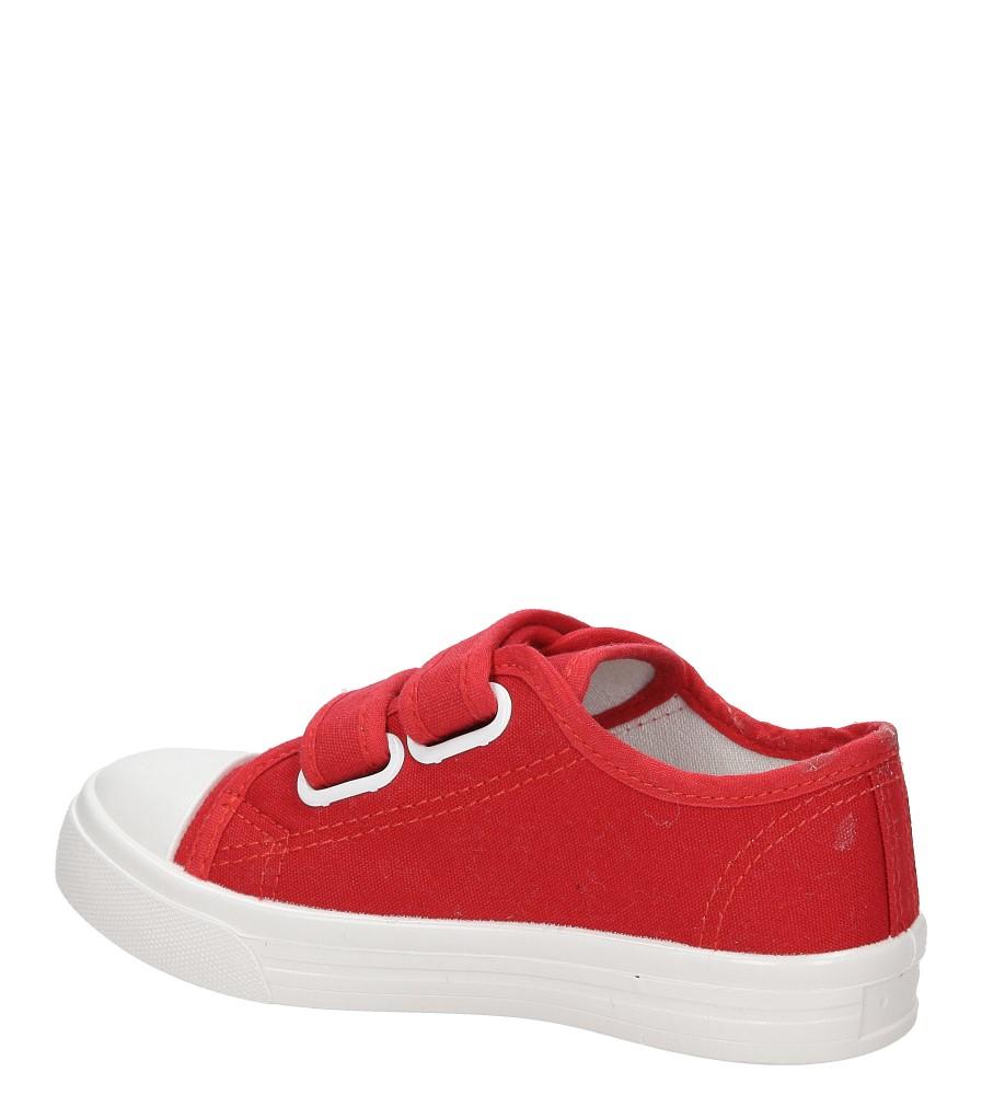 TRAMPKI CASU 5TX-Q086027E kolor czerwony