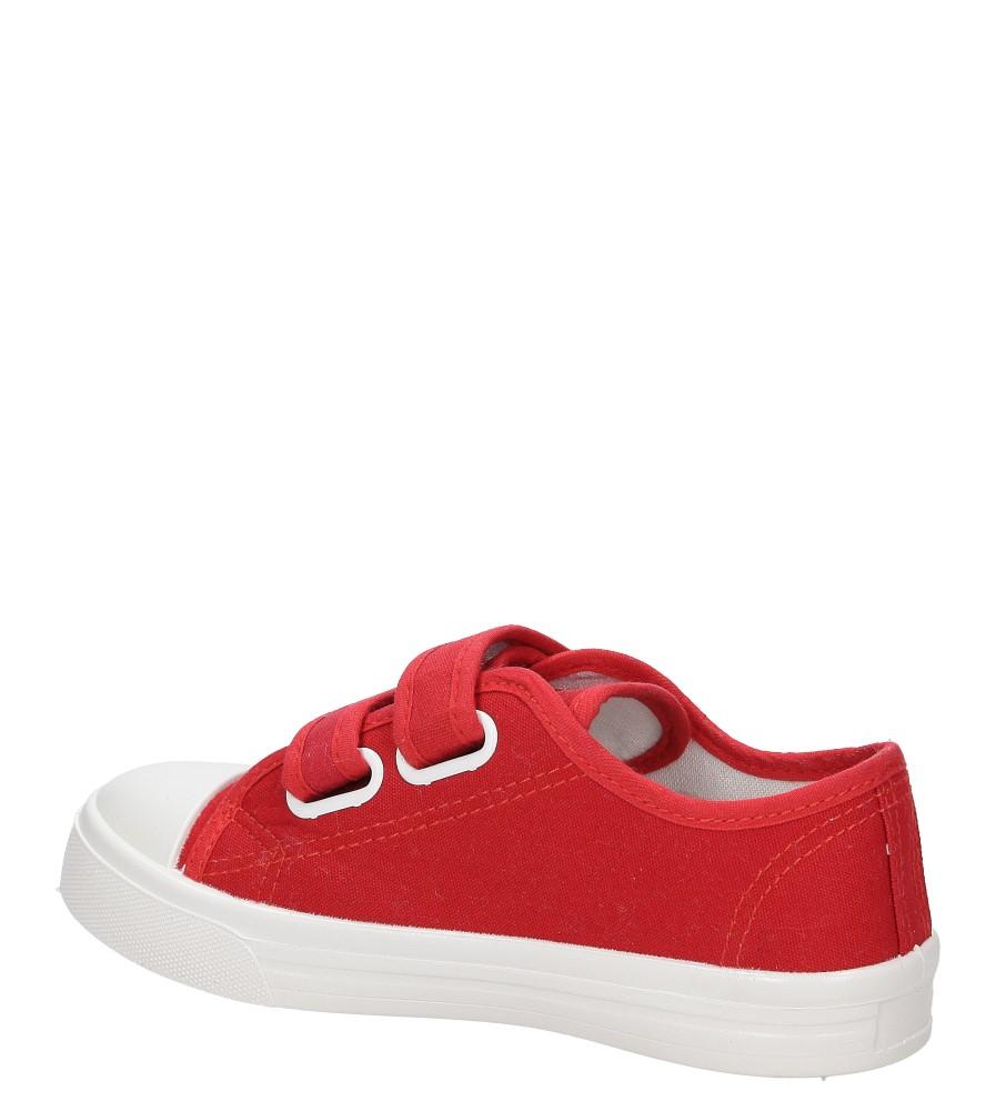 TRAMPKI CASU 4TX-Q086027E kolor czerwony