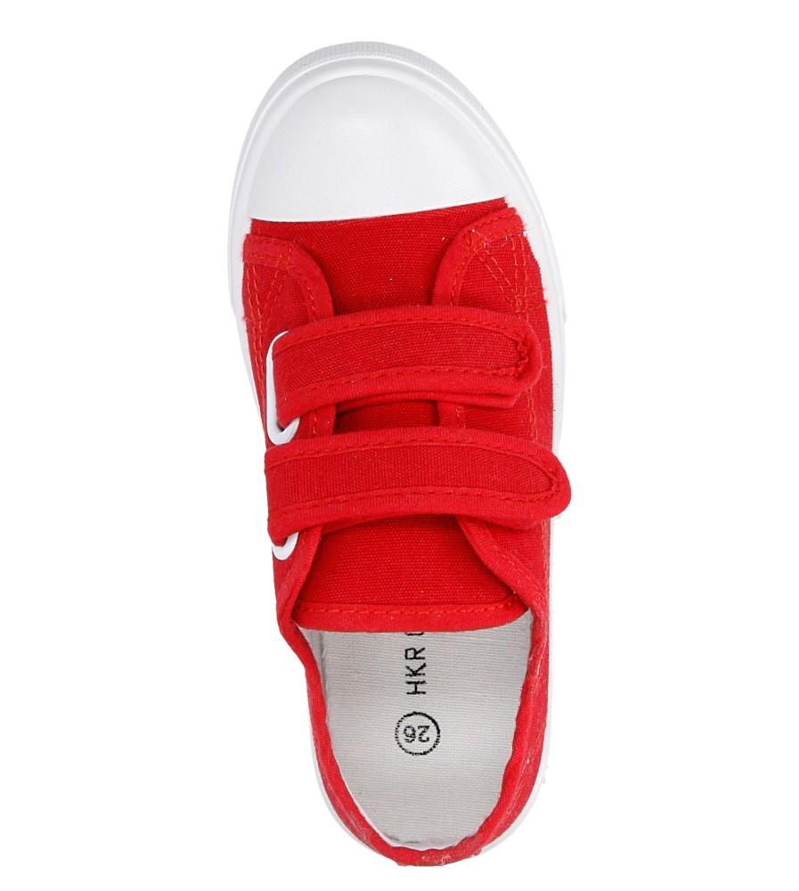 Dziecięce TRAMPKI CASU 4TX-Q086027E czerwony;;