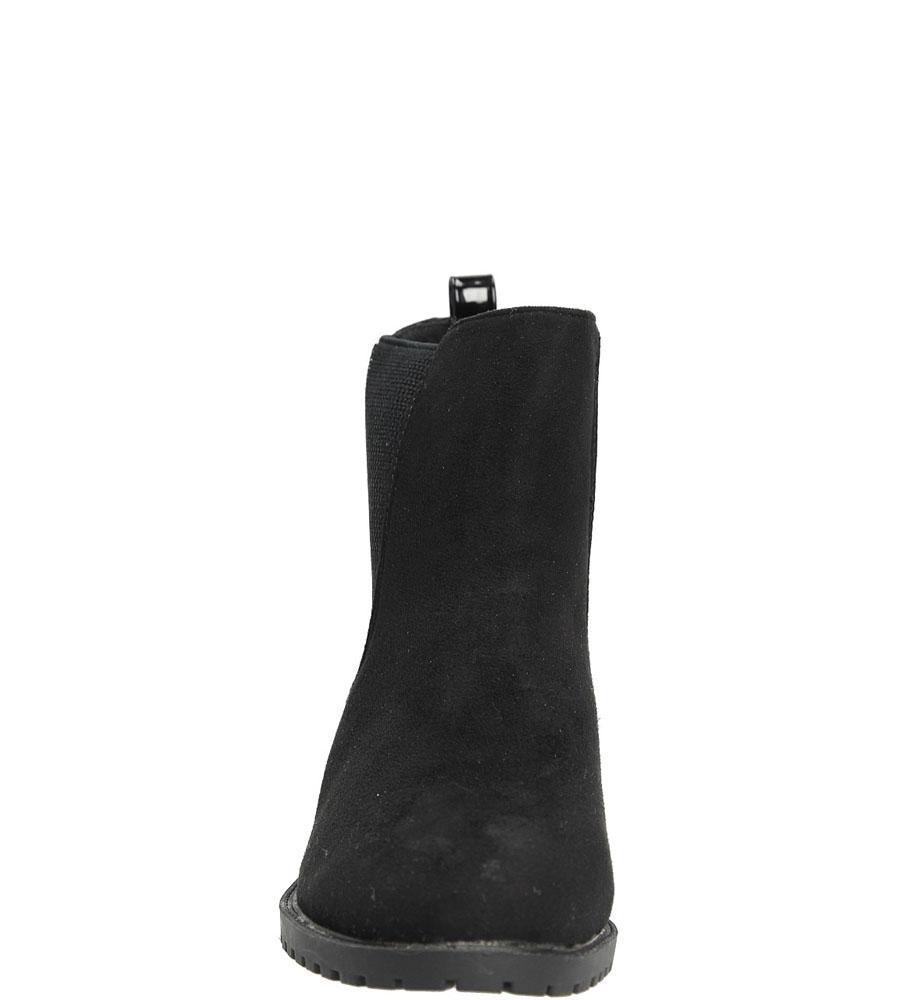 BOTKI CASU GG-06 kolor czarny
