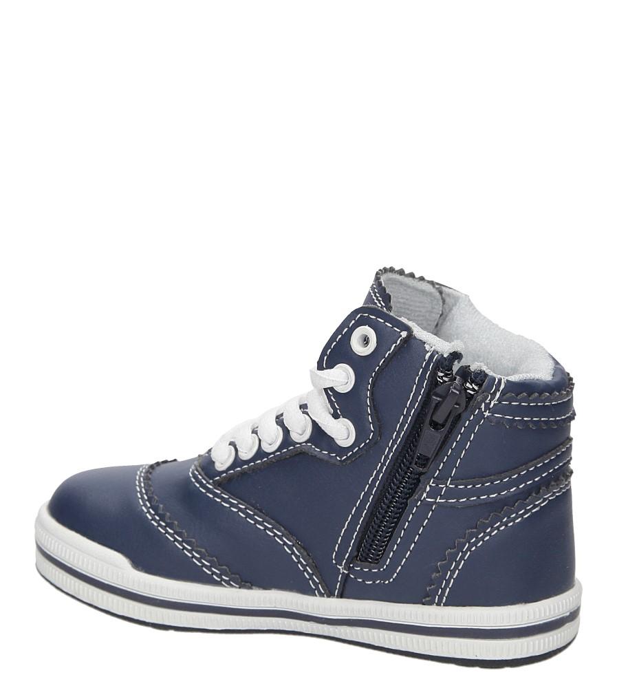 Dziecięce TRZEWIKI CASU 3F-XJ1413 niebieski;;