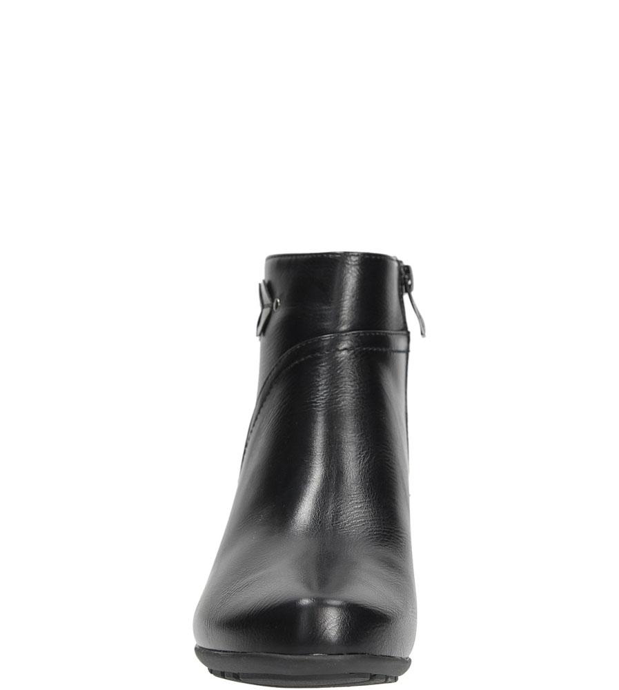 BOTKI JEZZI MR1599-5 kolor czarny