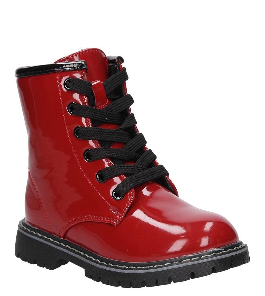 Dziecięce TRZEWIKI CASU 5W-DY85840 czerwony;czarny;
