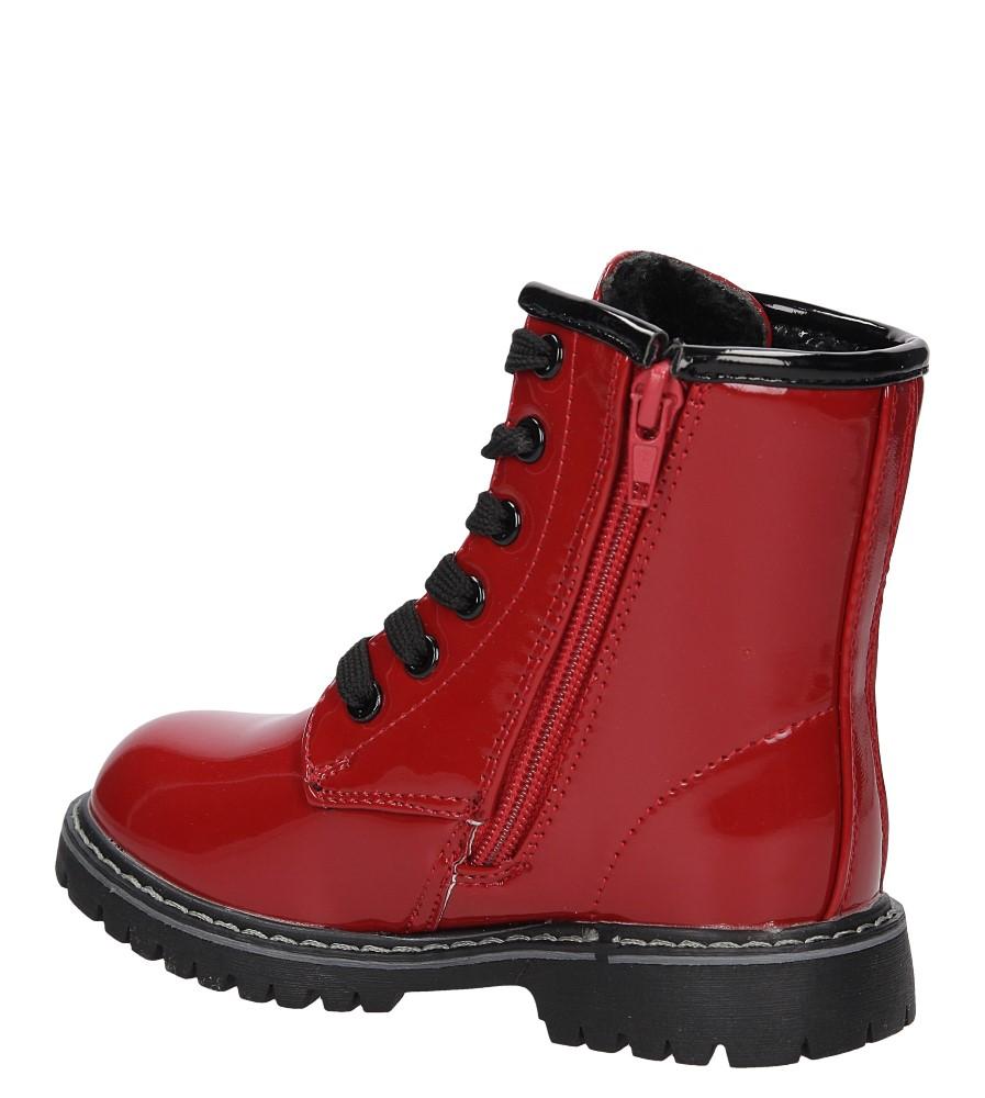 TRZEWIKI CASU 3W-DY85840 kolor czarny, czerwony