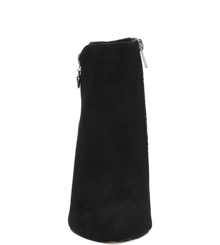 BOTKI S.BARSKI LH39678 kolor czarny