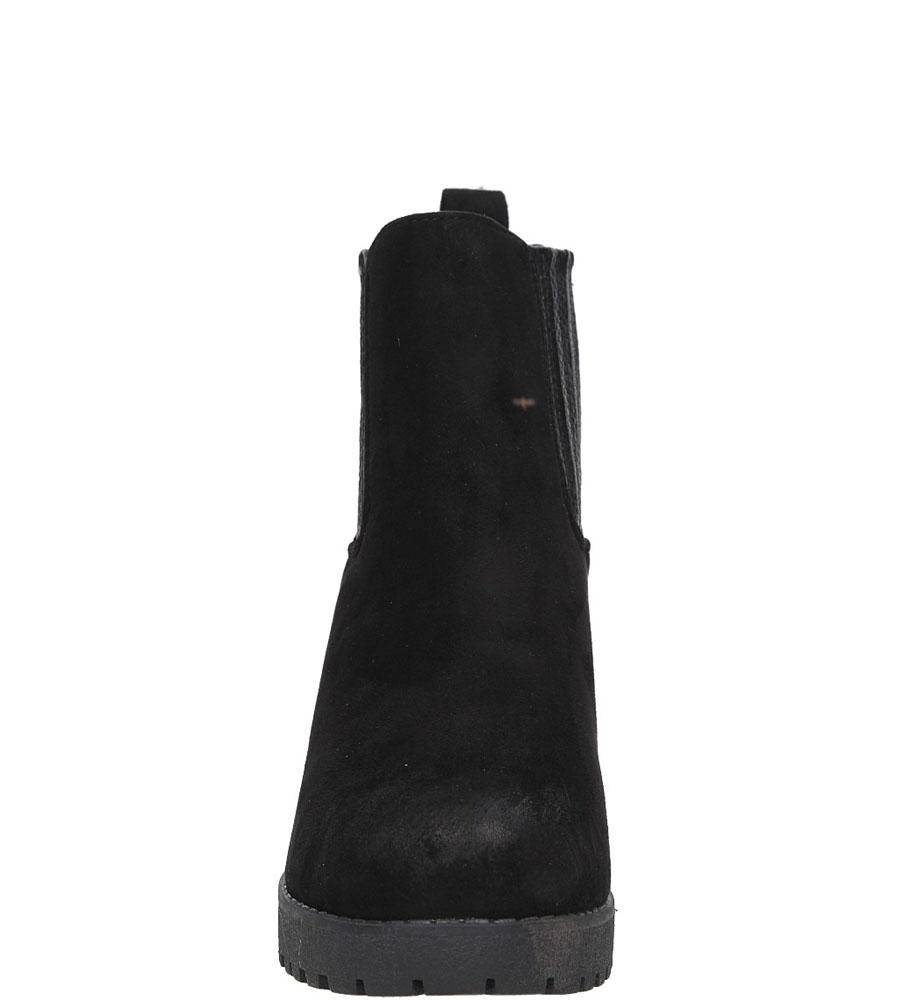 BOTKI S.BARSKI 1667-E12 kolor czarny