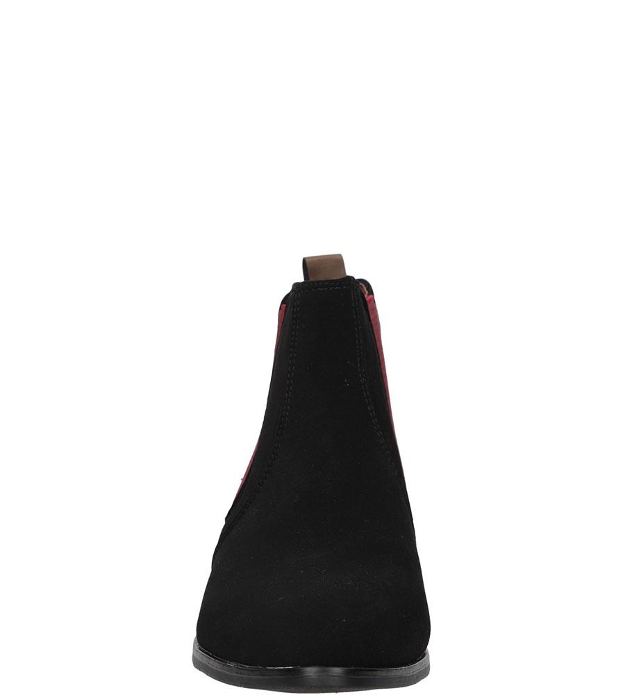 SZTYBLETY CASU 490-PA kolor czarny