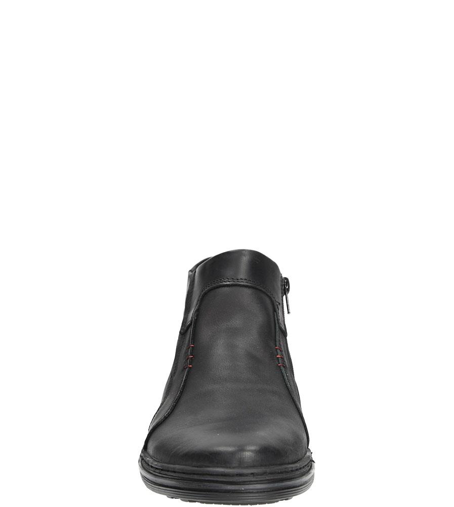 TRZEWIKI CASU 381/F kolor czarny