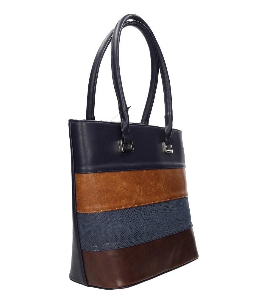 Damskie TOREBKA 1450 niebieski;brązowy;brązowy