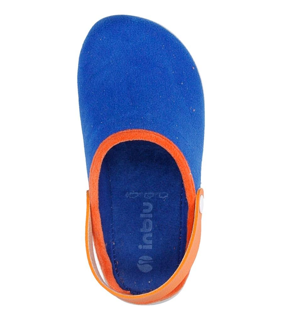 Dziecięce KAPCIE INBLU B9000008 niebieski;pomarańczowy;