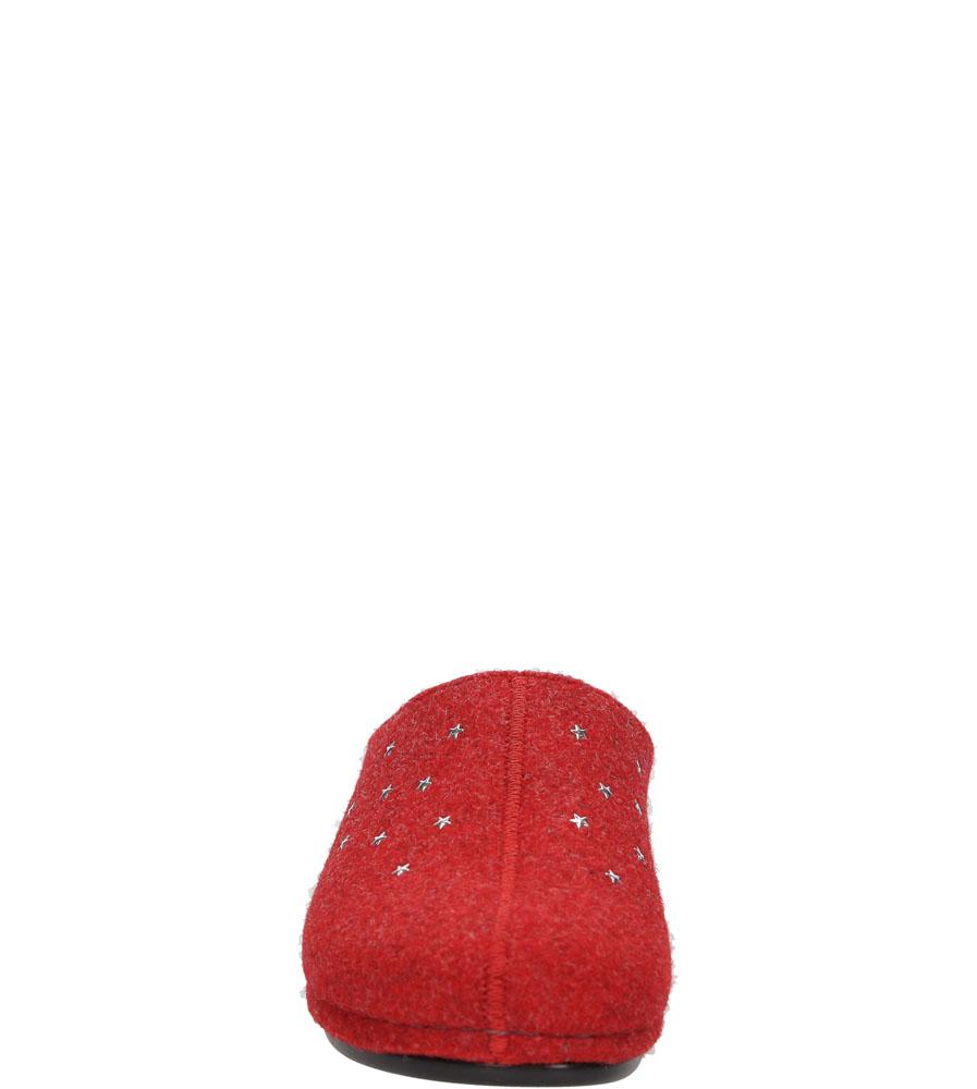 Damskie KAPCIE PANTO FINO 110-M48-F-G czerwony;;