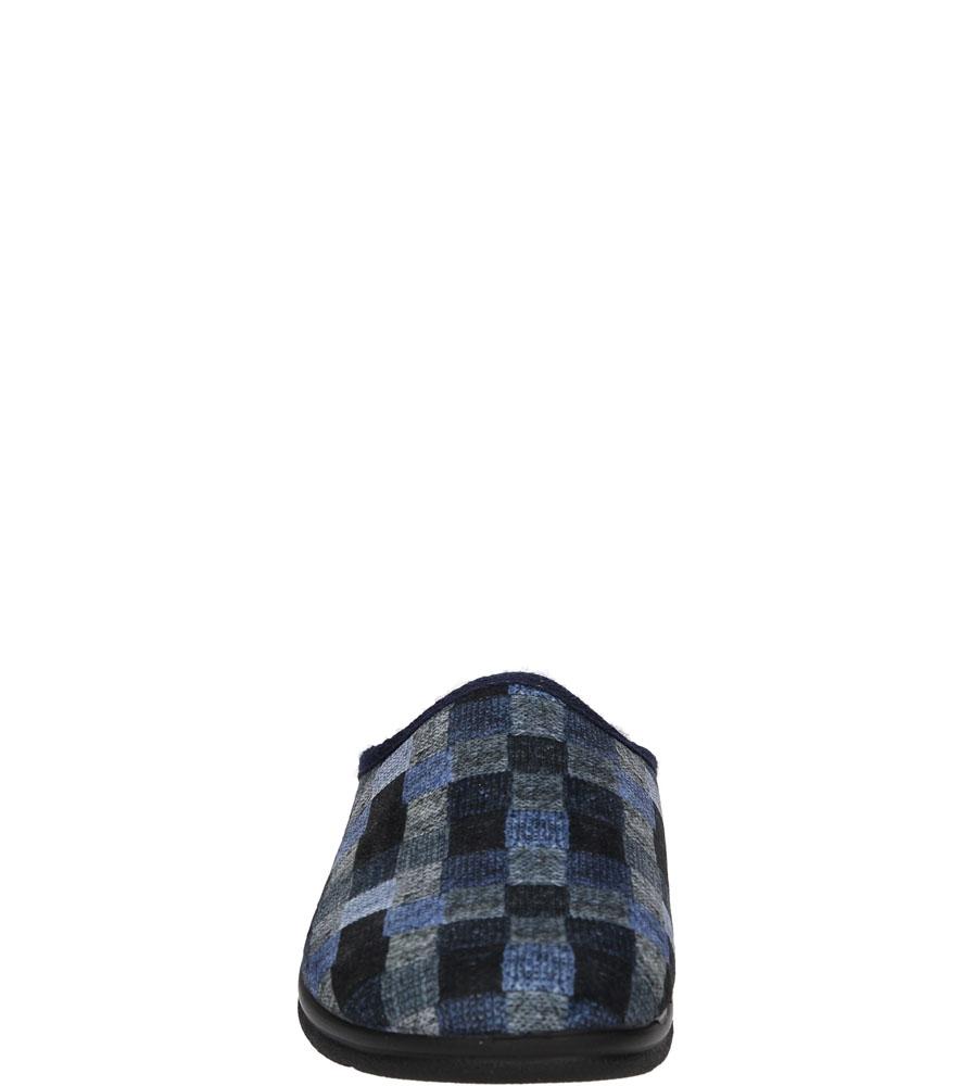 Męskie KAPCIE INBLU P0000051 niebieski;multikolor;