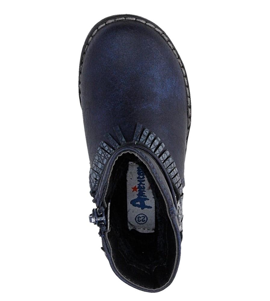 Dziecięce TRZEWIKI AMERICAN G-AB16052B niebieski;;