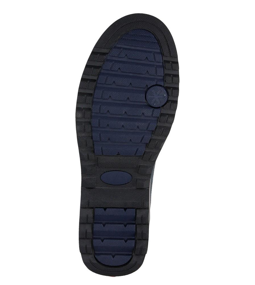 Męskie TRZEWIKI CASU 68Z6MN5606 niebieski;;